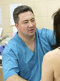 Хирург онколог-маммолог врач высшей категории Вадим Михайлович КАЗАКОВ