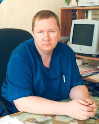 Врач-хирург высшей категории Евгений Валерьевич КАРТАШКОВ