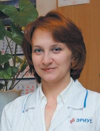 ТЕРСКОВА Н. В., к. м. н., лор-врач