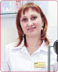 Оксана Михайловна КАРПЕНКО, гл. врач «Студии красоты О.К.»