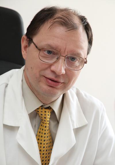 А. В. Протопопов, д. м. н., профессор, руководитель Регионального сосудистого центра Красноярской краевой клинической больницы