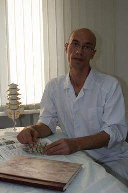 Вячеслав Михайлович КОПЕЕВ, врач-массажист высшей категории