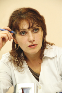 Заведующая отделением психотерапии ККГУЗ ККПНД №1 Светлана Леонидовна ОСТАПЕНКО