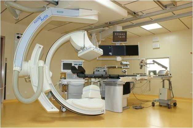 Операционная Федерального центра нейрохирургии в г. Тюмени