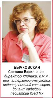 Снежанна Васильевна Бычковская