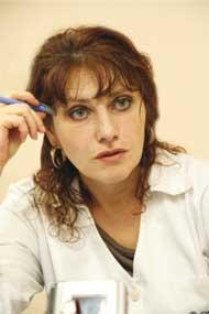 Зав. психотерапевтическим отделением поликлиники ККПНД №1 Светлана Леонидовна Остапенко