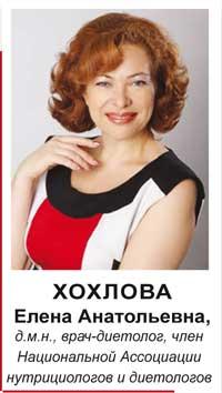Хохлова елена анатольевна, д.м.н., врач-диетолог
