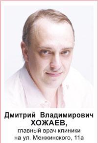 Дмитрий Владимирович Хожаев
