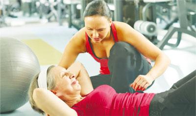 Физическая нагрузка при остеопорозе