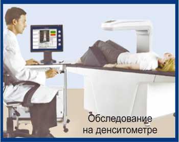 Диагностика остеопороза, денситометрия, Красноярск