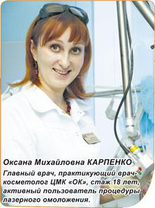 Оксана Михайловна Карпенко