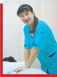 Лю Чуньлинь, врач-иглотерапевт и массажист