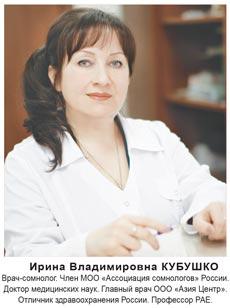 врач-сомнолог Ирина Владимировна КУБУШКО