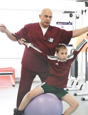 Лечебная физкультура для детей, Красноярск, центр Бубновского