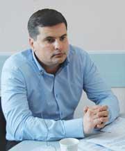 главный специалист отдела транспорта министерства транспорта Красноярского края Роман Михайлович ХАЙСЕРВЕРИН