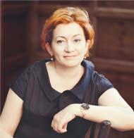 Генеральный  директор ГПКК «Губернские аптеки» Алена Михайловна ПОПОВА