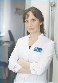 Специалист клиники современной офтальмологии «БЕРЕГ» Виктория Александровна НЕВМЕРЖИЦКАЯ