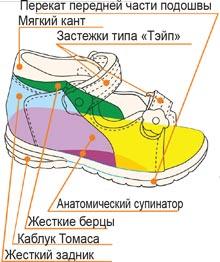 Детская ортопедическая обувь в Красноярске