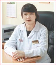 Марина Альбертовна БЕРЕЗОВСКАЯ, д.м.н., заведующей кафедрой психиатрии и наркологии КрасГМУ,