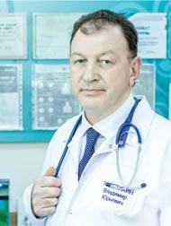 главный врач «Центра современной флебологии и профилактической медицины» Владимир Юрьевич ТОЛСТИХИН